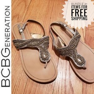 BCBG Generation Beaded Sandal